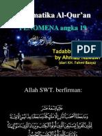 MATEMATIKA AL-QUR'an FENOMENA N19