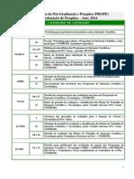 Calendário Da Coordenação de Pesquisa 2014 (Atualizado)