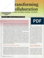 Transforming Collaboration