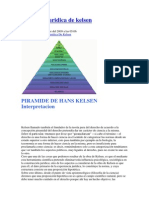 Piramide Juridica de Kelsen
