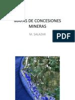 Mapas de Concesiones Mineras