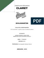 Ecojuguete Claret