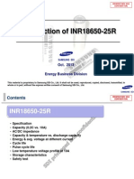 131101_Introduction of INR18650-25R Samsung SDI