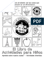 Kids Activity Book-Spanish