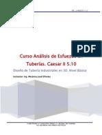 Curso Analisis de Esfuerzos en Tuberias CAESAR II