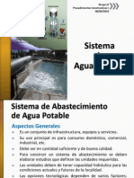 Sistema Agua Potable