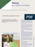 L'édition numérique selon l'ENS