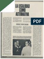 Enrique Tierno Galván - La Legalidad Como Alternativa