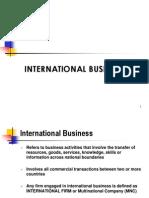 Intro to IB