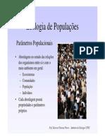 apresentação biologia populacoes
