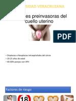 Lesiones preinvasoras del cuello uterino.pptx