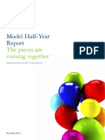 Deloitte Model Half Year Report 31Dec2013