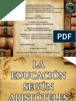 Educación Según Aristóteles