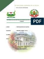 Detrminacion de Metodos de Propagcion de Los Cultivos en Fundos