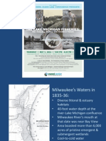 2014 Clean Rivers, Clean Lake -- Evening Program - Lake Michigan Fisheries, Amazing HIstory and Troubled Future
