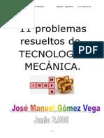 Problemas Resueltos de Tecnología Mecánica