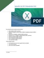 Instalación de OS X Maveincks 10