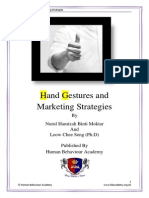 Hand Gestures and Marketing Strategies