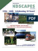 Spring 2006 - Volume 10 - #2 - 1000 Friends of Wisconsin Landscapes