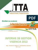 Informe de Gestion 2012.pptx