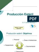 PRODUCCION ESTERIL