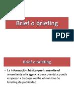 Brief o Briefing