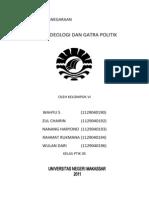 GATRA IDEOLOGI DAN GATRA POLITIK