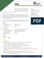Hexaware Factsheet Q4 2013