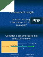 Development Length
