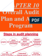 ch10 overall audit plan and audit program