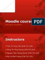 Moodle Course