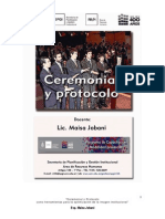 Apunte Ceremonial y Protocolo 2012