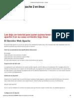 Configuracion Apache 2 en Linux