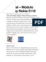 Módulo Display Nokia 5110