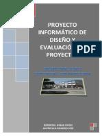 Proyecto de Diseño y Evaluacion de Proyectos