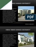 China - China Three Gorges University