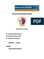 Hc - Pediatria