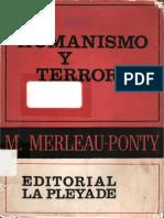 LIBRO- Merleau Ponty, Humanismo y Terror.pdf
