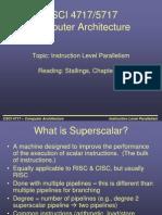 Super Scalar Architecture