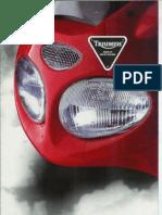 Triumph  Motorcycles 1999