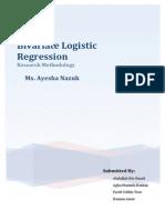 Bivariate Logistic Regression