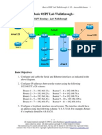 Ospf Basic Lab Walkthrough
