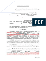 Underwriting Agreement (1)