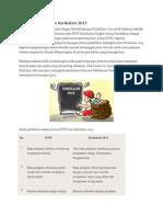 Perbedaan KTSP Dan Kurikulum 2013