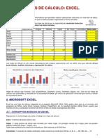 Tema 5. Hojas de Cálculo. Excel (3º Eso)