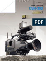 Sony Dsr 300 Camcorder