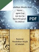 Pendidikan Muzik Asas (Presentation)