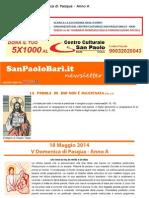 18 Maggio 2014 - V Domenica Di Pasqua - Anno A