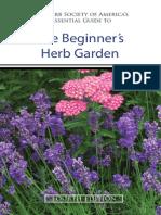 The Beginners Herb Garden