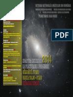 Afis - Noaptea Muzeelor 2014 La Planetariul Baia Mare